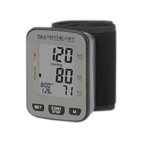 SmartHeart Talking Blood Pressure Wrist Monitor