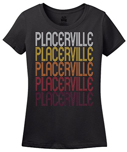 Placerville, CA | Retro, Vintage Style California Pride T-shirt