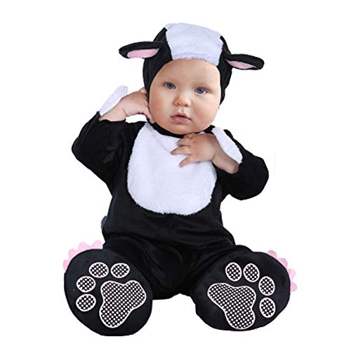 FULIER Unisex-Baby Crawling Clothes Cosplay Pajamas Onesie