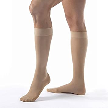 881e55d60 Image Unavailable. Image not available for. Color  Jobst Ultrasheer 20-30  mmHg Knee High Firm Compression Stockings ...