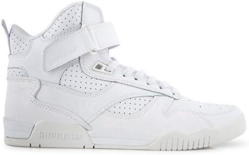 Supra Men's Bleeker Shoe White: Amazon