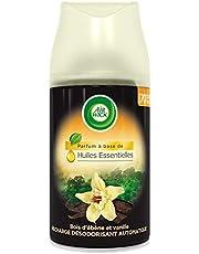 Air Wick Rare Scents navulcontainer voor Freshmatic geurverspreider, ebbenhout en bourbon-vanille, 250 ml, verpakking van 3