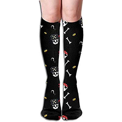 Horizon-t Long Socks Pirates Women Warm Knee High Stockings Sexy Socks