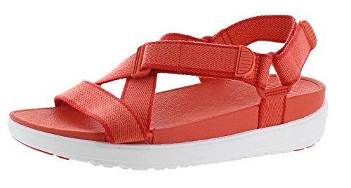 best wholesale online latest FitFlop Women's Slingback Sandal Hot Coral/Shell Pink TFKwZh