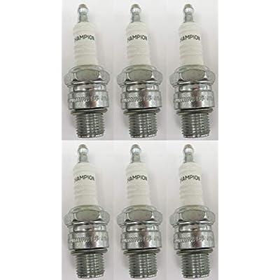 Champion 827M L76V Marine Spark Plug Pack of 6: Automotive