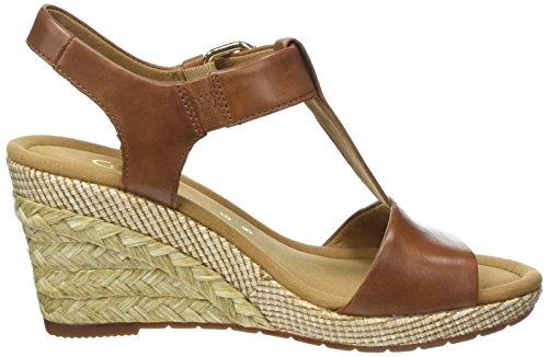 Comfort Bast Peanut Sandalia Sport Gabor Mujer Marrón con Pulsera Shoes para wgvWzxfq5z