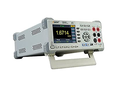 "OWON XDM3041 4 1/2 150 rdgs/s 4"" LCD USB / RS232 / LAN Dual-Display True RMS Benchtop type digital Multimeter"