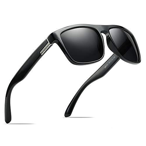 68cd66ebf16 Polarized Sports Sunglasses Driving Glasses Shades for Men Square Box Sun  glasses Guy s Classic Design All
