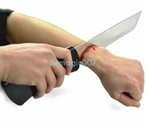 Knife Through Arm (Bloody Arm Knife) - Close Up -