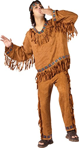 [Morris Costumes American Indian Man Plus] (Male Indian Costumes)
