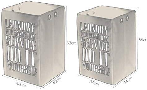 LXYZ Boîte de Rangement Pliable pour Panier à Linge Oxford en Tissu, Salle de Bains en Tissu, vêtements Sales, Panier de Rangement pour Jouets, Panier à Linge/L