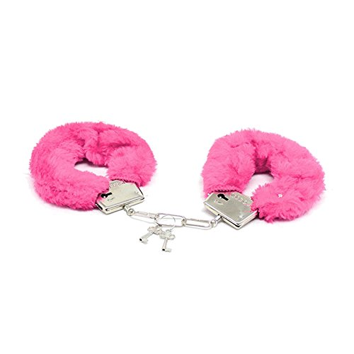 Ztl 2pcs/Set Plush Rabbit Ears Headband and Furry Fuzzy Handcuffs Role Play Party Costume Accessories