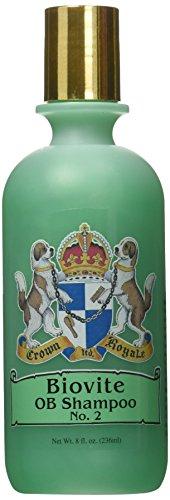 Shampoo Coat Formula Pet - Crown Royale R2222 RTU No.2 Biovite OB Pet Shampoo, 8 oz