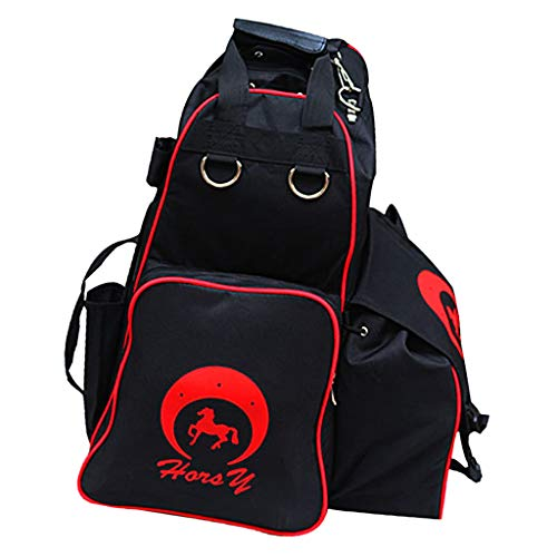 Prettyia Horse Riding Equipment Storage Bag Helmet and English Boots Carry All Bags