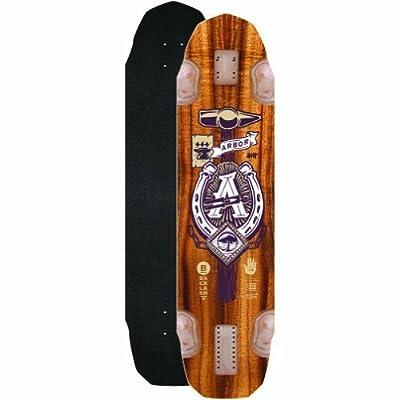 Arbor Backlash Longboard Deck, 37-Inch by Arbor Skateboards