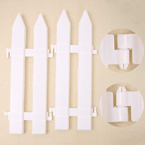 wang JESS Valla de plástico para Pastillero, 16 Piezas de PVC para ...
