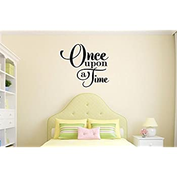 Amazon.com: Enchantingly Elegant Once Upon A Time Wall Decor Vinyl ...