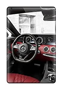Anti-scratch And Shatterproof 2015 Mercedes-benz S-class Interior Hd Photos Phone Case For Ipad Mini 3/ High Quality Tpu Case RR4YX80UP9H7QKAO