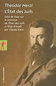 L'État des Juifs par Theodor Herzl