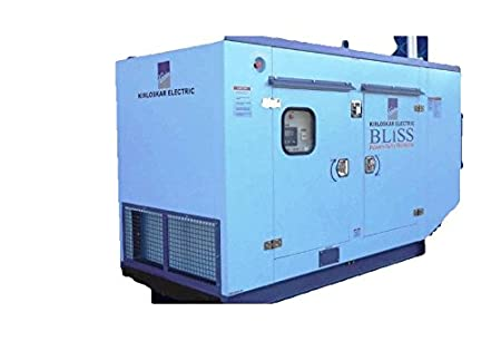 Kirloskar Electric Make Silent Diesel Generator 15 Kva Model No Kec E15 Ii Blue Colour Weight 900 Kg Amazon In Garden Outdoors