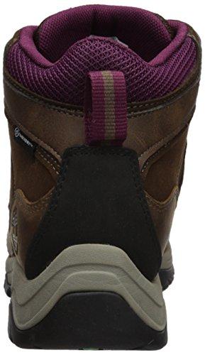 Hiking Mt Timberland Mid Lthr Maddsen Medium Women's Wp Brown Boot ZAAqw4Y