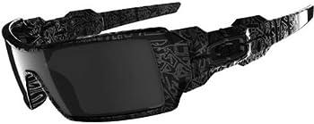 Oakley Oil Rig Black Iridium Rectangular Men's Sunglasses