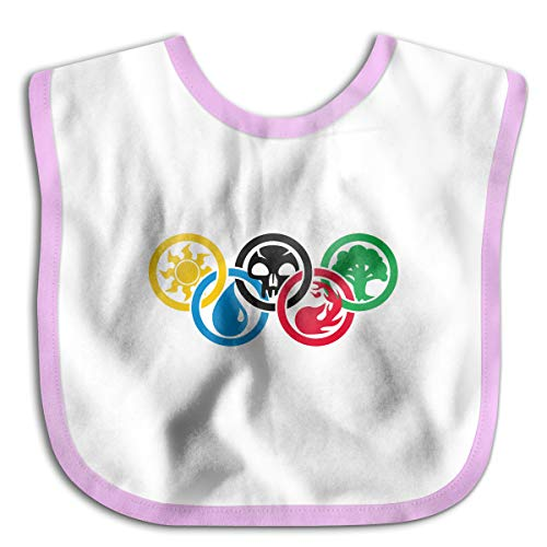 Price comparison product image Magic Gathering Olympics Baby Cotton Bib For Drooling And Teething