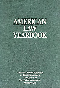 American Law Yearbook Jeffrey Wilson