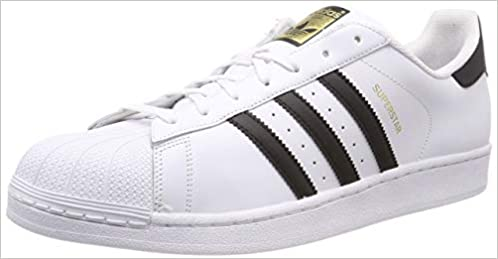 00c7ddc44bded ADIDAS ORIGINALS SUPERSTAR C77124 bianco nero scarpe unisex pelle 44   Amazon.it  Libri