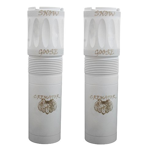 Carlsons, Beretta Benelli Mobil Cremator Non-Ported Snow Goose Choke Tube, Mid Range ande Long Range, Package of 2