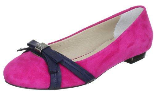 Dunkelblau Venedig Fersengold donna Pink Ballerine 15 1123 Pink Rosa Tffpzwq