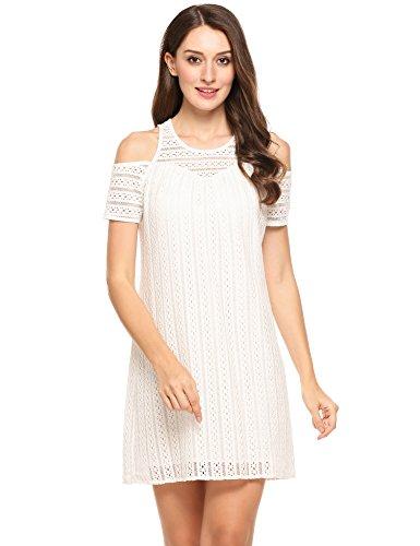 Buy beautiful short sleeve wedding dresses - 7