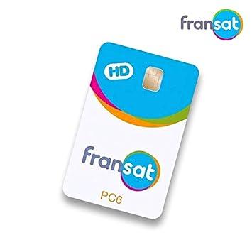 Tarjeta para Canales franceses FRANSAT con suscripción ...