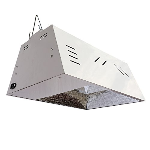 315W Ceramic Metal Halide 120/240V CMH Fixture Hydroponic Indoor Garden Lighting with Buit-In Digital Ballast by IPOMELO