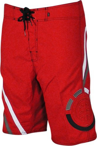Element Boardshorts - Element Local Stranger Boardshorts - Red - 33