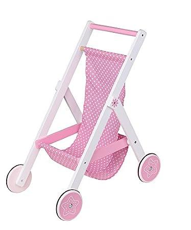 Amazon.com: Lelin Madera infantil bebé muñeca pretender ...