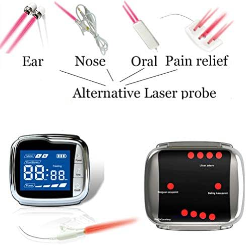 Lllt Laser Therapy Semiconductor Acupuncture Watch Therapy High Blood Pressure Fat Sugar Blood Clean Acupuncture Lase