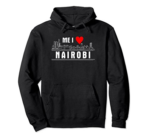 I Love Nairobi Hoodie - Kenya Hoodie For Girls