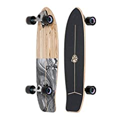 Classic surf design: with its classic surf design & handy kick tail, the swell is a versatile, ready-to-rip cruiser. The snappy cambered deck makes quick turning & pumping easy while the comfortable concave & Wide platform keep yo...