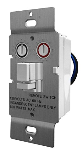 X10 PRO Soft Start Dimmable Wall Switch, White (Pro Wire White Switch)