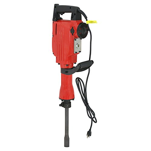 ZENY 2200W Heavy Duty Electric Demolition Jack Hammer Concrete Breaker w/Case, Gloves 2 Chisel 2 Punch Bit (Heavy Duty Hammer)
