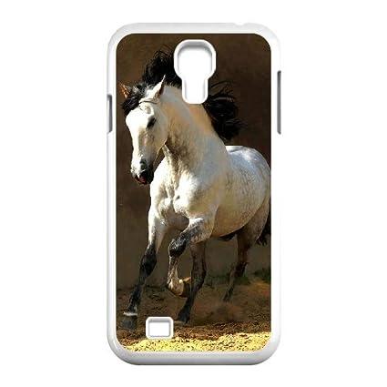 wholesale dealer 4a6ee d1b48 Amazon.com: WEUKK Horse Samsung Galaxy S4 I9500 cover case ...
