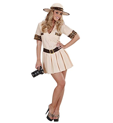 Ladies Safari Girl Costume Large Uk 14-16 For Tropical Africa Indiana ()