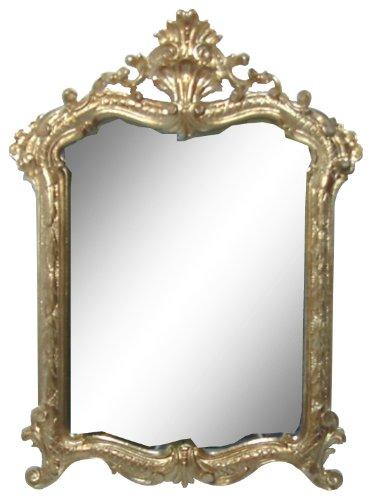 ロイヤルアーデン アンティーク調鏡 壁掛けミラー ゴールド 約37×54cm 84274 B00JUGT7JKゴールド