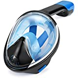 Wonice 180° View Quality guarantee Full Face Snorkel Mask Set For Adult and Kids