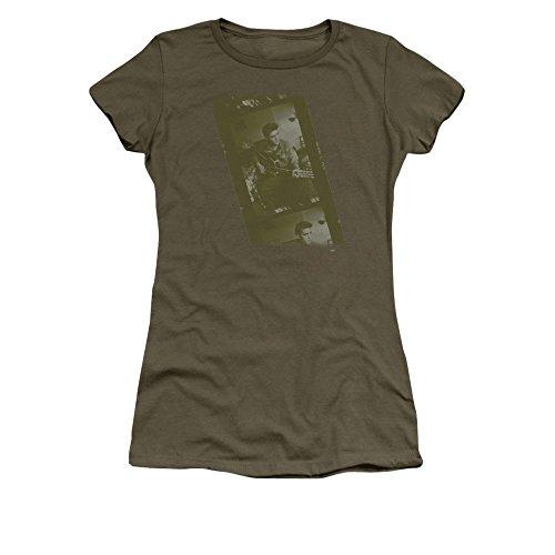 Sons of Gotham Elvis Presley Army Junior T-shirt L