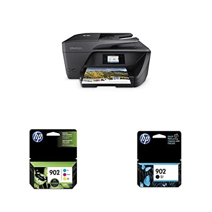 HP OfficeJet Pro 6968 Wireless All-in-One Photo Printer with Standard Ink  Bundle