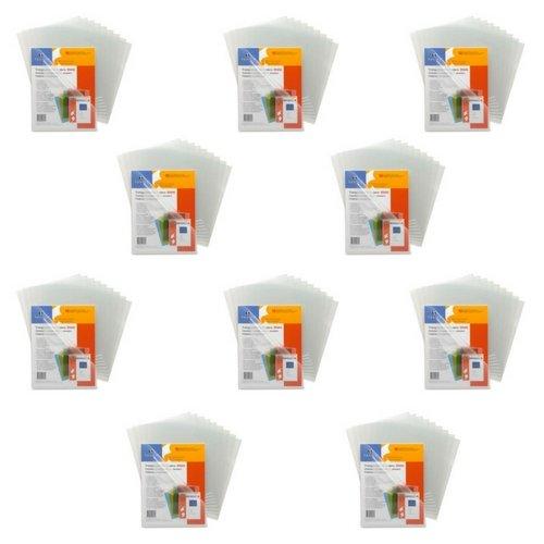 Sparco Transparent File Holder Sheet Protector - Letter - 8.50
