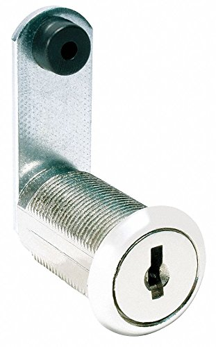 Alike-Keyed Standard Keyed Cam Lock Key # C420A, For Door Thickness (In.): 15/64, Bright Nickel by COMPX NATIONAL