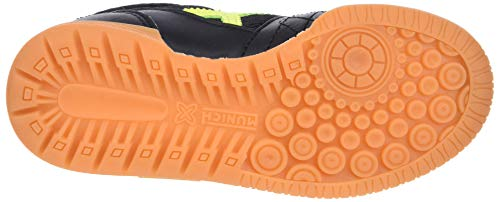 negro 874 Vco Fitness 3 G Indoor Chaussures Mixte Munich De Enfant Noir amarillo F7Rxv